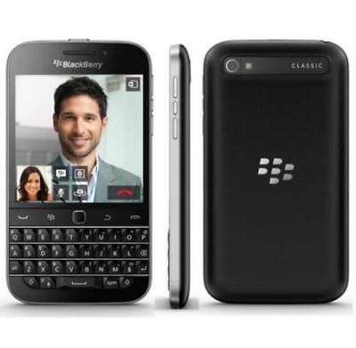 New Unlocked Original BlackBerry Classic Q20 Wifi GPS 4G LTE Smartphone Black