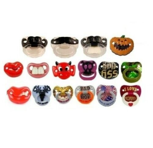 (You Pick) Novelty Billy Bob Funny Teeth Pacifier BPA and Phylate Free