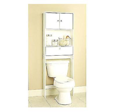 Zenna Home Drop Door Bathroom spacesaver, White