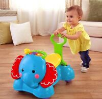 Fisher-Price - 3-in-1 Bounce, Stride & Ride Elephant