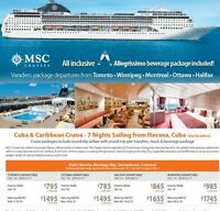 Caribbean & Cuba Cruise 2016/2017 now on sale! All inclusive