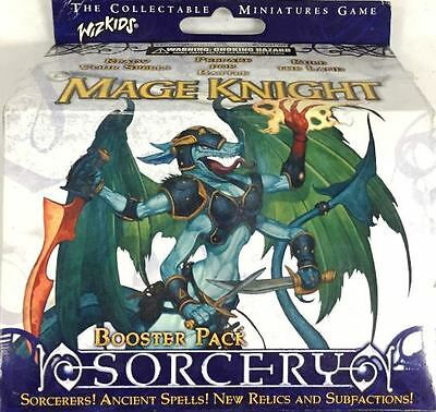 Mage Knight SORCERY BOOSTER PACK Sealed New WIZKIDS