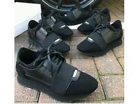 Balenciaga Black Runners New