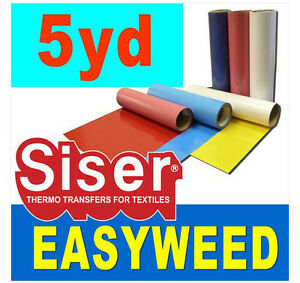 "Siser 15"" x 15 Ft Heat transfer vinyl film for tshirt heat press"