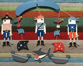 Gisela Graham Nautical Pirate themed mobile