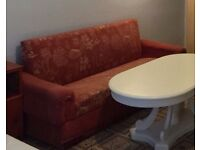 3 Seater Sofa Bed with Storage underneath Good Condition Can Deliver