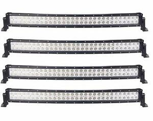 NEW CASE LOT SALE CURVED LED BARS 300W 240W 48W 72W 120W 180W 18W HUGE DISCOUNT WHOLESALE HUGE $$$ SAVINGS