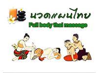 Thai, Sports & Depp-tissue massage.