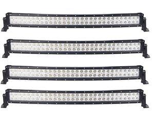 CASE LOT SALE ! NEW LED CURVED BARS DUAL ROW 300W 240W 48W 120W