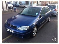 Blue Vauxhall Astra 1.7 Eco DTI Diesel only £30 Tax a Year