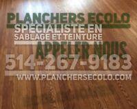 Planchers de bois