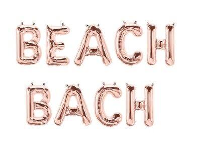 BEACH BACH Letter Balloons - 16