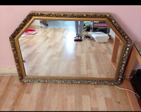 Large GILT Mantel Mirror Vintage