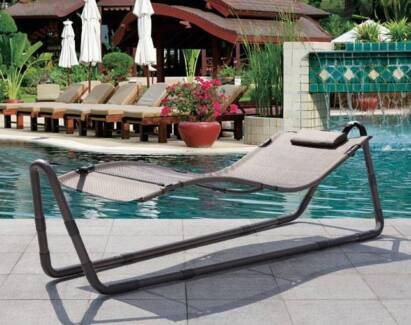 Free Standing Outdoor Patio Hammock Pool Sun Bed Lounge Chair