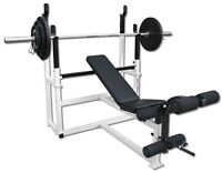 Professional Commercial/Home Gym Equipment-SOLD AS SET ONLY