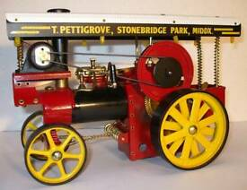 Steam Engine Wilesco D409 Showmans Engine WANTED.
