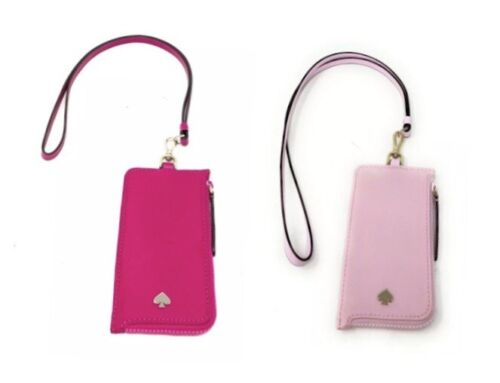 Kate Spade Jae Card Case Lanyard ID Badge Holder Nylon Clothing, Shoes & Accessories