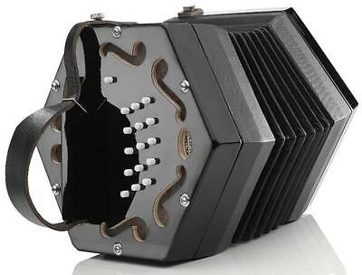 Rochelle Anglo Concertina Accordion Reeds Squeeze Box Beautiful Tone & Action