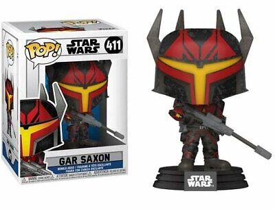 Funko Pop Star Wars 411 Gar Saxon The Clone Wars Mandalorian