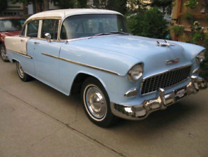 1955 Chev Bel Air V8 restored