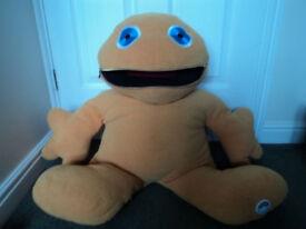 Giant Rainbow Zippy Character soft toy