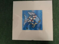 3 Fish hanging pictures