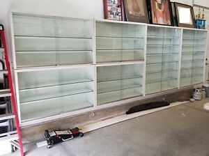 Display Cabinets - two sizes available