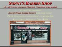 Sonny's mobile barber
