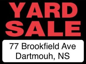 **Yard Sale**9am-1pm**Cole Harbour**