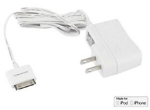 MFI Certified Wall Charger for all 30-pin iPhone and iPod 1A - W