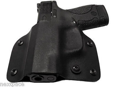 Left Hand Kydex OWB Holster for Smith & Wesson M&P Shield LH S&W 9 40 mm