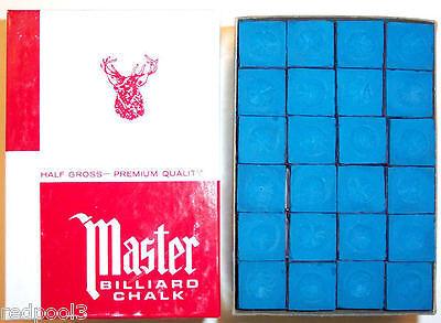 Master Brand - BLUE CHALK - 1/2 Gross = 72 PIECES - Blue Masters Chalk