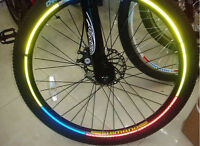 For Sell Bike Bicycle Safe Light Wheel Rims Reflective Sticker L