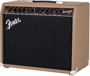 Ampli acoustique *neuf Acoustasonic  90 Fender  2313800000 DÉSTOCKAGE