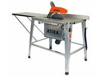 BELLE ATIKA HT315 TABLE SAW, CIRCULAR, BENCH, 240V, 3kW