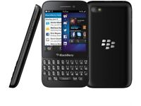 Blackberry Q5 Black (Unlocked) Smartphone in good condition