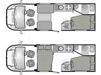2011 BESSACARR E450 MOTORHOME CAMPERVAN FIAT DUCATO 2.3 DIESEL 130 BHP LEZ COMPL