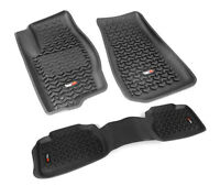Rugged Ridge Floor Liner Kit For 2007-13 Jeep Wrangler JK 4 Door