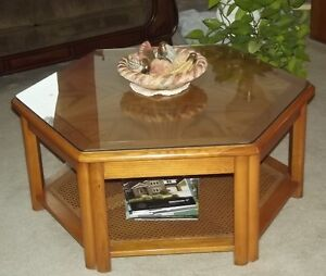 "Oak Coffee Table - End Tables ""Downsizing"" - Moving Sale"