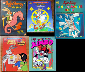 Searching: Old Looney Tunes & Bugs Bunny coloring activity books