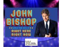 John Bishop Live Luxury Coach Trip - Blackpool Winter Gardens, Thursday, 4th Nov 2021