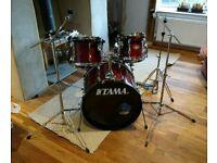 Tama Rockstar 5 piece drumkit & hardware