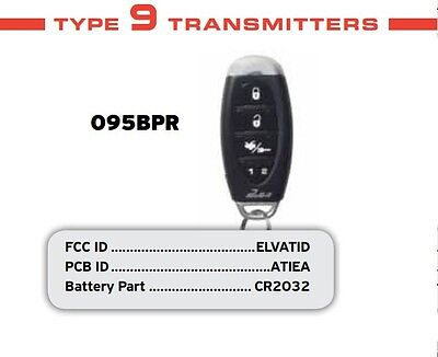Pursuit 095BPR 5 Button Keyless Entry Key Fob Remote Transmitter For Car O95BPR