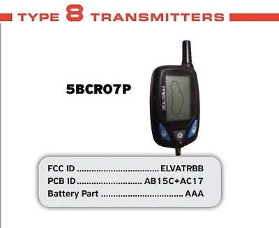 NEW PRESTIGE 5BCR07P 2 WAY LCD REMOTE 5BCR03 5BCRO3B 5BCRO5P 5BLCR122 UTXP UTXPR