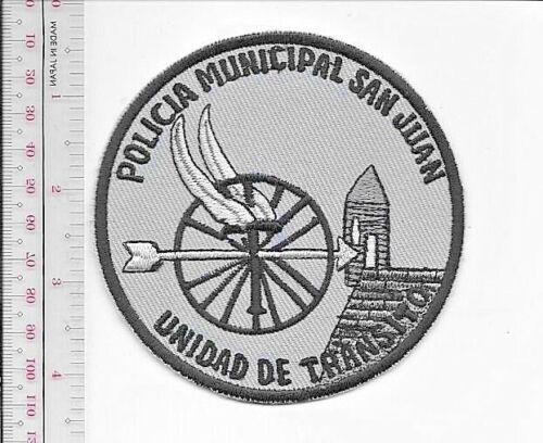 Puerto Rico San Juan Police Department Traffic Unit Policia Municipal Transito g