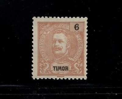 Timor 1898 - 1903  6a  King Carlos MH Sc 61