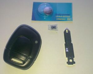 renault clio key battery ebay. Black Bedroom Furniture Sets. Home Design Ideas