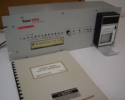 Tracor 900a 100hz-75.6khz Vlflf Ferequency Reference Receiver