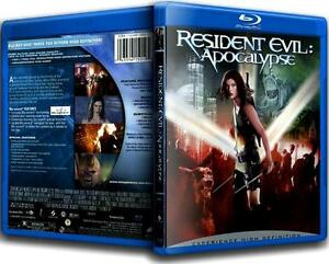 Resident Evil-Apocalyse-Blu-Ray-Excellent condition