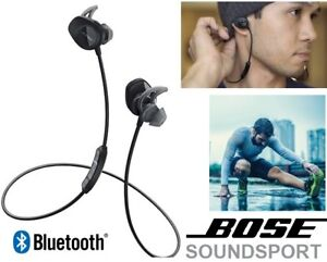 NEW BOSE SOUNDSPORT IN-EAR WIRELESS BLUETOOTH HEADPHONES - BLACK